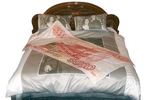 печать на ткани - постельное белье с фотопринтом на заказ