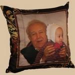 печать на ткани - декоративные подушки с фотопринтом на заказ